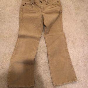 Curvy Bootcut Corduroy pants